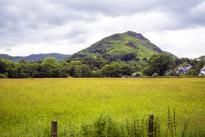 View of Helm Crag from Glenthorne
